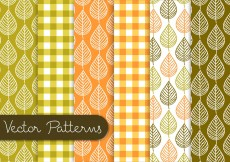 Free vector Leaf Pattern Set #10428