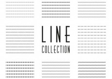 Free vector Lines collection #4205
