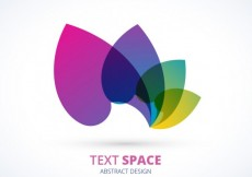 Free vector Logo with colorful petals #5866
