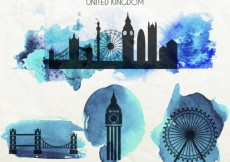 Free vector London monuments #8317