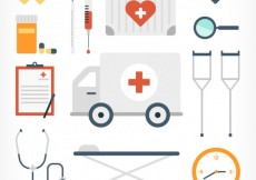 Free vector Medical equipment icons #11456