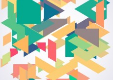 Free vector Messy polygons background #7915