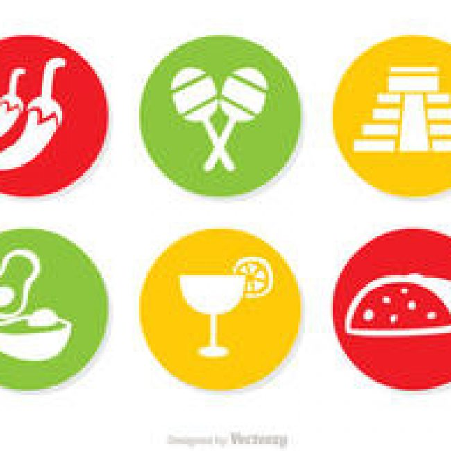 Free vector Mexican Icons Vectors Pack 2 #4389