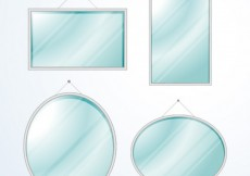 Free vector Modern mirror collection #6498