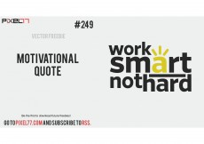 Free vector Motivational Quote Vector Phrase – Free Vector of the Day #249 #8415