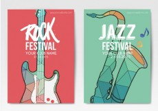 Free vector Music festival posters #12179