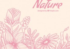Free vector Nature flowers #4651