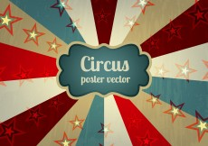 Free vector Old Circus Poster Background Vector #10729