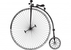 Free vector Old Fashioned Bicycle Vector #8948