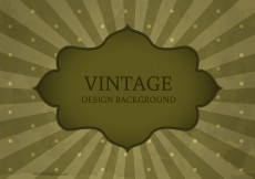 Free vector Old Vintage Style Label Background Vector #5936