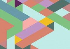Free vector Pastel colors geometrical background #7709