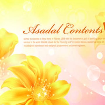 Free vector Pink banners with flowers #5989
