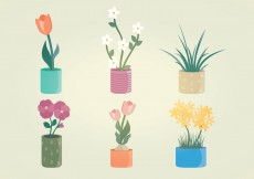 Free vector Plants Vector Graphic Set #7954