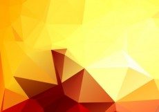Free vector Polygonal background in warm tones #5594