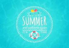 Free vector Pool time background #11210