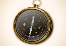 Free vector Realistic compass #8761