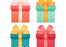 Free vector Realistic gifts #10712