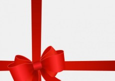 Free vector Red ribbon background #7653