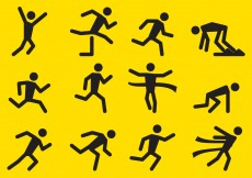Free vector Running Vector Icons #10238