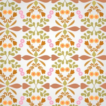 Free vector Seamless Floral Pattern Vector #9817