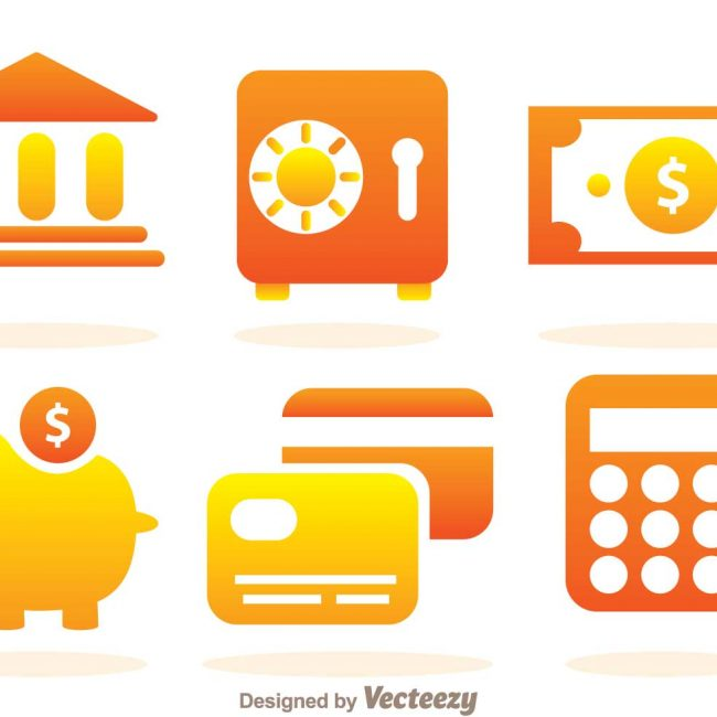Free vector Simple Bank Icons #4284