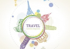 Free vector Sketchy travel template #10339