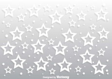 Free vector Star Gray Background Vector #10284