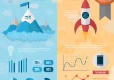 Free vector Startup infographic template #9114
