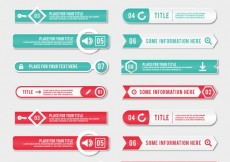 Free vector Variety of banners #11991
