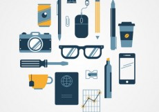 Free vector Variety of business icons #6159