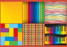 Free vector Vector Colorful Patterns #6906
