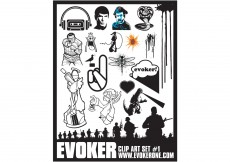 Free vector Evoker Clip Art Set 1 #9193