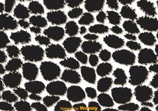 Free vector Giraffe Print Black And White Pattern #12104