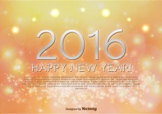 Free vector Happy New Year 2016 Background #4749