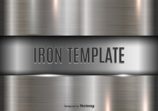 Free vector Iron template #10624
