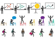 Free vector School And Work Icons #11175