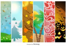 Free vector Seasonal and Holidays Backgrounds #4920