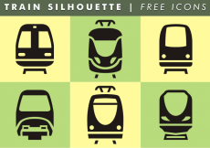 Free vector Train Silhouette Free Icons #11483