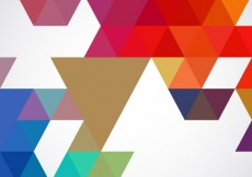 Free vector Vivid colors geometrical background #6768