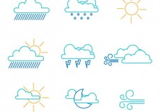 Free vector Weather icons #5782