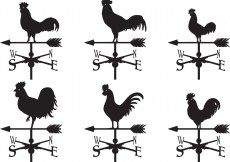 Free vector Weather Vane Vectors #5987