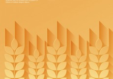 Free vector Wheat ears background #7395