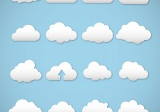 Free vector White clouds #7581