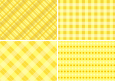 Free vector Yellow Table Cloth Backgrounds Free Vector #10396