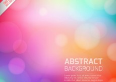 Free vector Abstract background in colorful style #17898