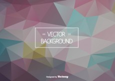 Free vector Abstract Polygonal Vector Background #15770