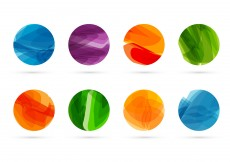 Free vector Abstract shapes vector #12764