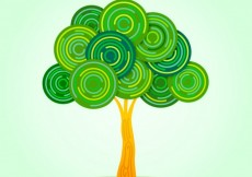 Free vector Abstract tree #12485