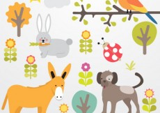 Free vector Animals collection #20140