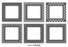 Free vector Assorted Decorative Frame Set #16165